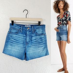 Madewell The Perfect Jean Short NEW 26